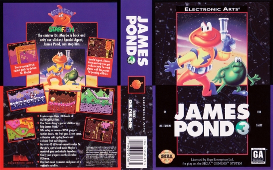 James Pond 3 - Operation Starfish (1)